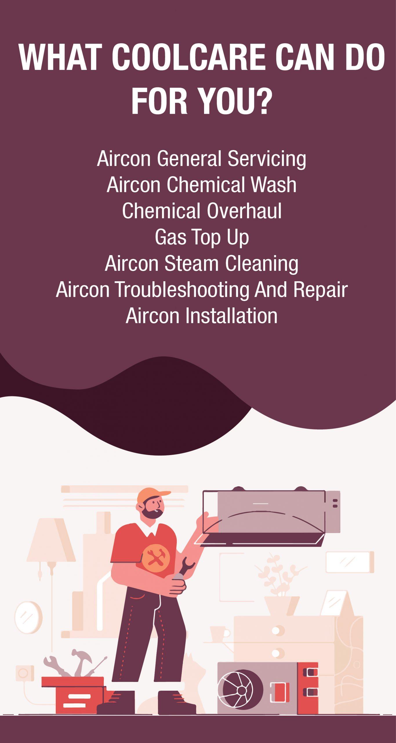 general aircon servicing