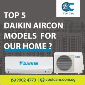 Daikin Aircon top 5 model