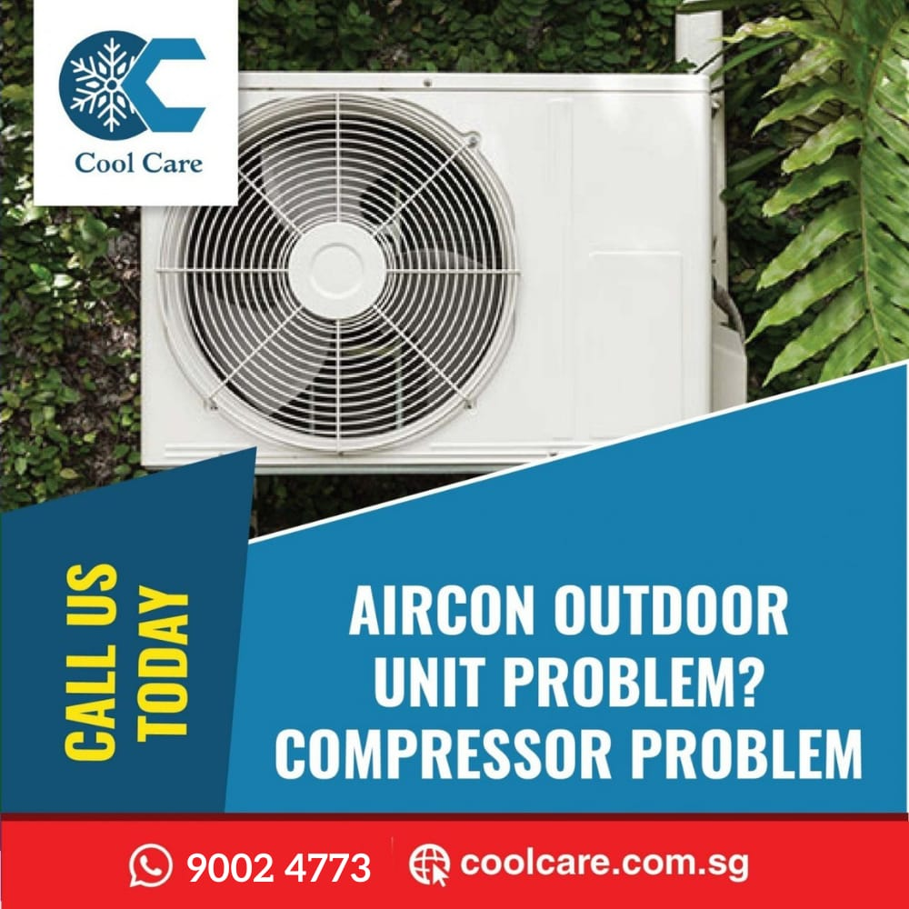 Aircon Outdoor unit problem? compressor problem?